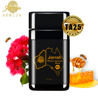 AOMIJA西澳洲原罐進口 天然活性純蜂蜜 紅柳桉樹蜜TA25 500g 滋養腸胃增強免疫 澳大利亞直采 原瓶進口