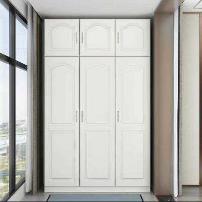 定制北欧阳台储物柜防晒收纳置物柜多功能衣柜经济型大容量柜子 2门高200*长90*深60