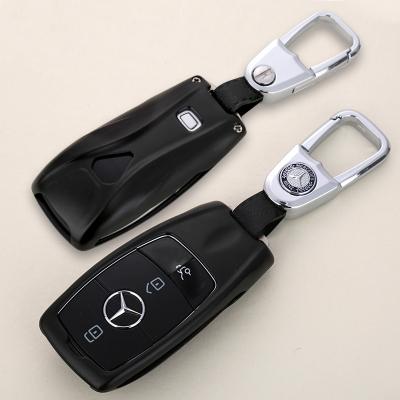 傳楓 汽車鑰匙包鑰匙扣鑰匙套奔馳邁巴赫S級S320 S350 S450 S500 GLE450 GLC300 A200