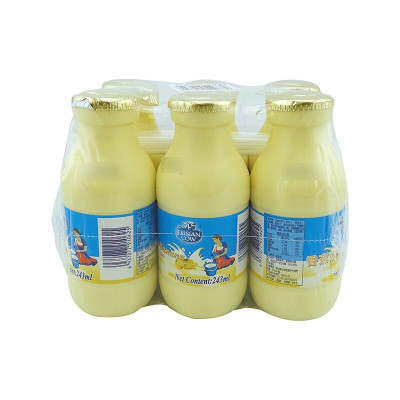 子母奶 弗里生乳牛 菲仕蘭牛奶 營養飲料乳制品含乳飲料制品早餐奶休閑飲品AA
