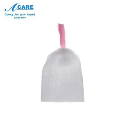 小號1個#acare起泡網洗面奶搓手工香皂打泡器泡沫潔面肥皂網泡袋子洗臉部專用