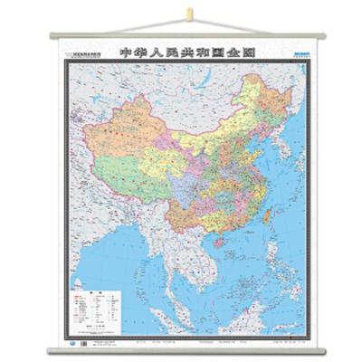 中華人民共和國全圖 9787520403542 正版 中國地圖出版社 中國地圖出版社