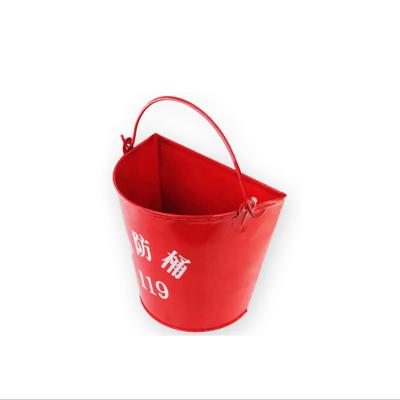 消防桶/黃沙桶/水桶/加厚半圓烤漆消防鐵桶 消防器材(個)