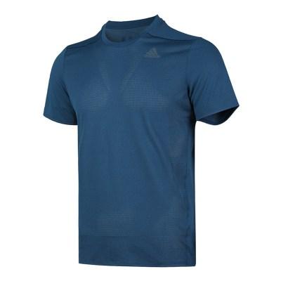 阿迪達斯(adidas)2019夏季男士訓練健身速干透氣短袖運動T恤 DQ1891