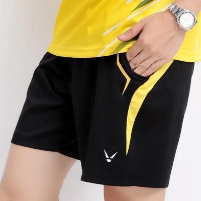 速干运动短裤男女款儿童羽毛球服跑步健身球乒乓球五分短裤子夏