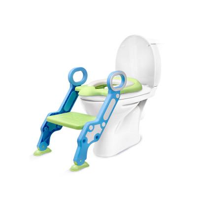 【棒棒豬】階梯式坐便器 軟墊(BBZ-500)綠色