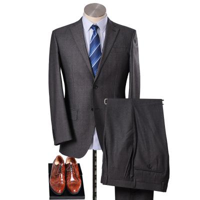美尔雅(MAILYARD)西服套装 羊毛商务男士西装 男士职业装 正装 105