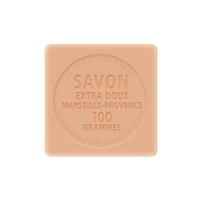 法国原装进口(Chatelard)夏特拉尔1802精油皂洁面除螨沐浴皂非沐浴露 木兰茶花100g