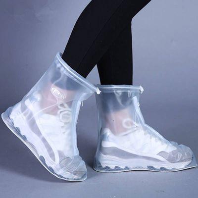 【防滑加厚】雨鞋男女防雨鞋套防雪防污水鞋套學生帶防水層雨靴套 瓷里茶