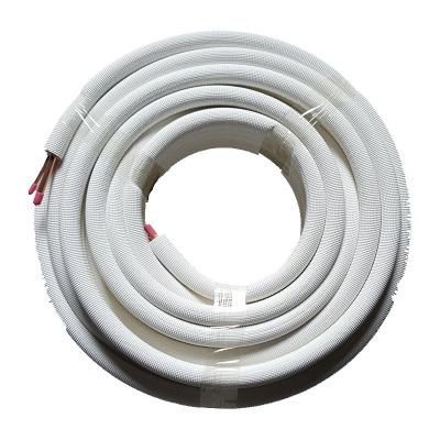 帮客材配家用空调铜管快速连接30米套装成品铜管 1-1.5匹 5卷起送