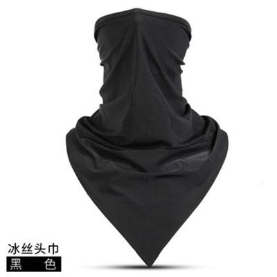 夏季防曬面罩魔術頭巾男防風面巾騎行裝備自行車三角巾圍脖脖套女