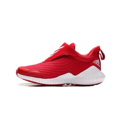 【自营】阿迪达斯童男鞋儿童鞋魔术贴一脚穿透气运动休闲鞋EG5702