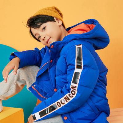 【1件3折价:103.8】moomoo童装男童短款羽绒服新款冬装韩版潮儿童外套