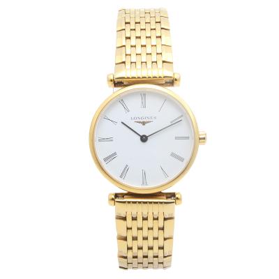 【二手95新】浪琴LONGINES優雅系列L4.209.2.11.8女表石英奢侈品鐘手表腕表