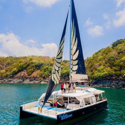 【618鉅惠】深圳新雙體帆船游艇移動的海上城堡全程舒適體驗租賃1小時