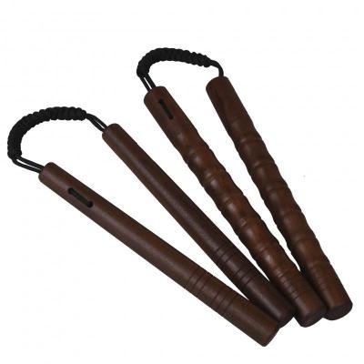 黑檀木雙節棍紫檀木雙截棍繩索實戰表演實木雙節棍二節棍練習棍