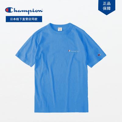 日版Champion冠軍正品C8-P306R胸口小刺繡logo短袖情侶百搭T恤