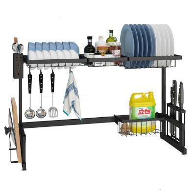 四季沐歌(MICOE)厨房置物架不锈钢水槽置物架碗碟架刀架沥水架家用厨房收纳架碗筷水槽架