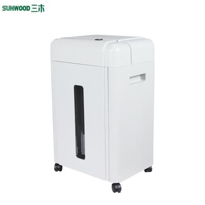 三木(SUNWOOD) SD9310碎纸机 静音低能耗办公电动设备粉碎机 2*9mm 粒状
