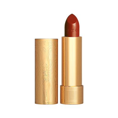 GUCCI BEAUTY 傾色華緞唇膏 #505 鐵銹紅