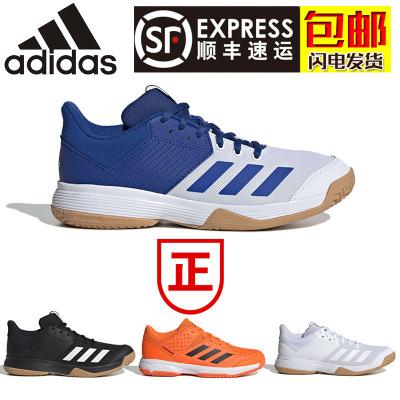 2020新款阿迪達斯adidas男款女款羽毛球鞋排球鞋 輕便防滑耐磨透氣 男子女子情侶款運動鞋 春夏