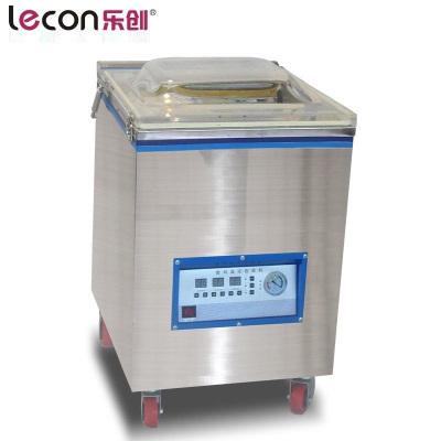 乐创(lecon) DZ-400 工业泵 商用食品真空包装机干湿两用冷面大米砖打包装袋抽真空封口机