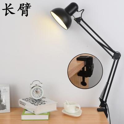 定做 LED長臂折疊夾子臺燈拍攝床頭紋繡美甲護眼學生維修工廠工作臺燈