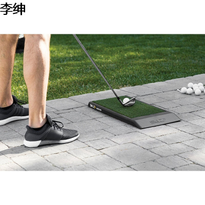 高爾夫球滑動打擊墊室內室外皮打墊推桿揮桿練習訓練器簡約新款