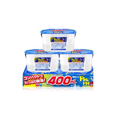 【日本進口】白元(hakugen) 干燥劑除濕劑無味 400ml*3個