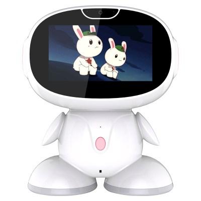 lieve 智能機器人7寸觸摸屏兒童早教機器人智能陪讀唱歌講故事WIFI連接外語學習同步1-6年級課程益智育兒玩具