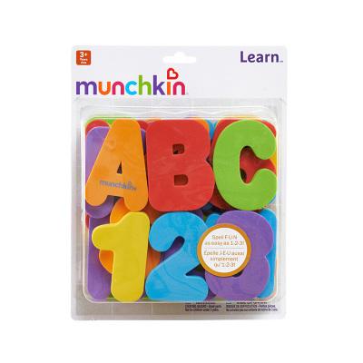 护理贴MUNCHKIN满趣健数字字母洗澡贴