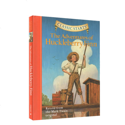 Classic Starts系列 The Adventures of Huckleberry Finn 哈克贝利·
