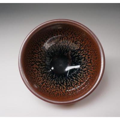 精品黑釉建盞——鷓鴣斗笠盞
