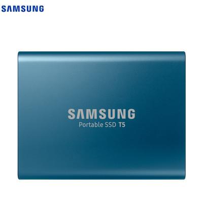 三星(SAMSUNG)移动固态硬盘PSSD T5 500GB USB3.0 1.8英寸 (MU-PA500B/CN)