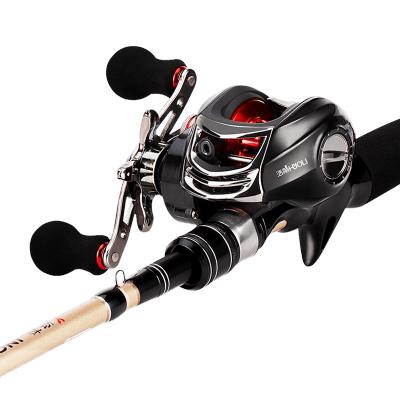 佳釣尼悍動x遠投路亞竿水滴輪套裝雙竿稍碳素槍柄拋竿超硬釣魚竿海竿遠投桿