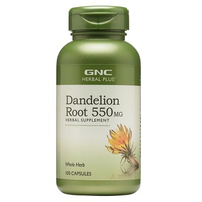 美國原裝GNC蒲公英Dandelion Root蒲公英根精華550mg100粒肝膽
