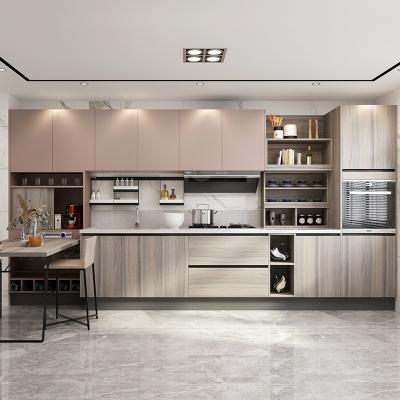 歐派櫥柜整體廚房裝修定做小戶型現代簡約櫥柜整裝定制蒙布朗塔12800元套餐