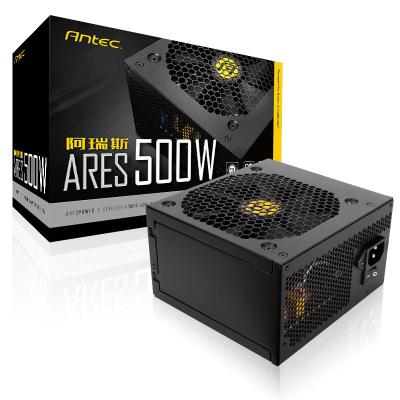 安钛克 阿瑞斯AP500W 台式机电源电脑游戏静音电源