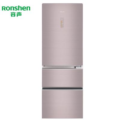 【99新】容聲 332升意式三門冰箱風冷無霜智能變頻電冰箱 BCD-332WKR1NPG 沁享流沙