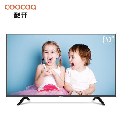 創維 酷開 K5C 40英寸全高清 智能WiFi 25核 教育電視 騰訊電視 平板電視 人工智能液晶網絡電視 40K5C