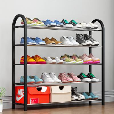 艾格调简易鞋架家用多层经济型宿舍门口防尘收纳鞋柜省空间小号鞋架子K585