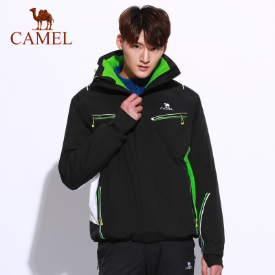 CAMEL駱駝戶外滑雪服 冬季情侶款男女防風保暖戶外滑雪服