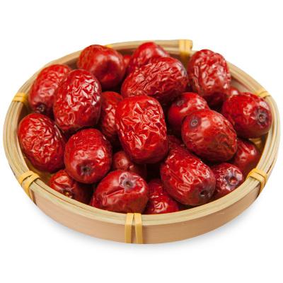 加園(Jiayuan)新疆特產紅棗若羌灰棗紅棗干果300g