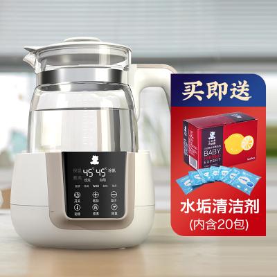 小白熊恒温调奶器玻璃水壶1.2L HL-0857