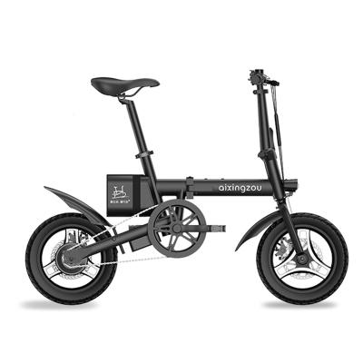 愛行走F2 新國標電動自行車 折疊電動車迷你輕便電動車 成人助力電瓶車代步車