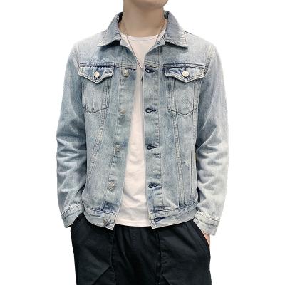 吉普战车(JIPUZHANCHE)2019冬季新款男士牛仔服男修身柔软舒适时尚时尚潮流男士牛仔衣服外套男