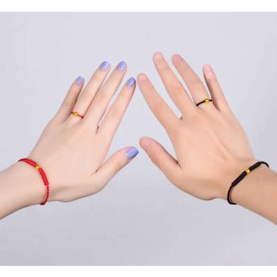 【東莞東城蘇寧易購plaza】周大生足金轉運珠光珠戒指手鏈套裝