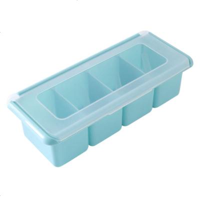 厨房组合调味盒套装罐佐料盐罐调味收纳盒调味塑料盒套装盒调味罐