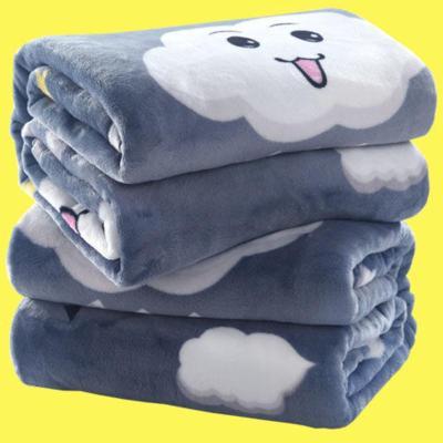 澳派睿遠【四季毯子多尺寸速暖】空調毯子法蘭絨毛毯單人雙人蓋毯床單