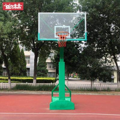 益動未來籃球架 戶外標準移動籃球架 (加粗加重)成人籃球架 籃球架單只價格